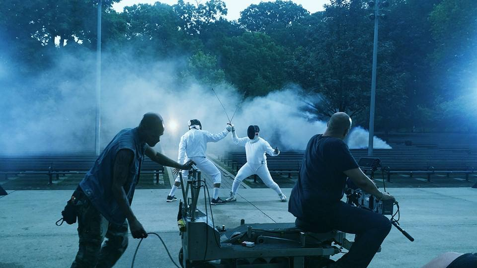 "BLACK VIOLIN VIDEO SHOOT ""STEREOTYPES"" | Inner City Fencing"